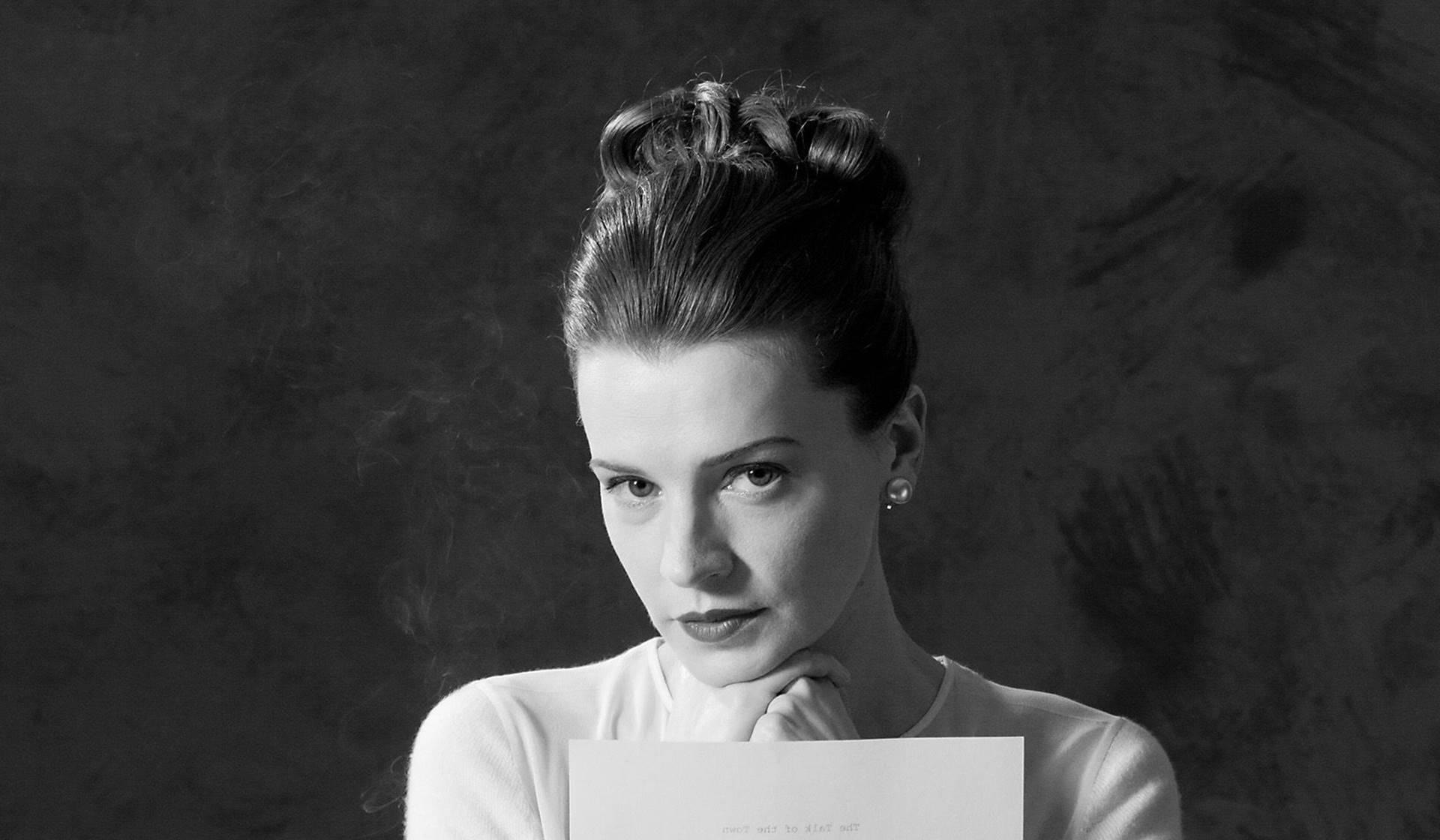 La escritora Maeve Brennan