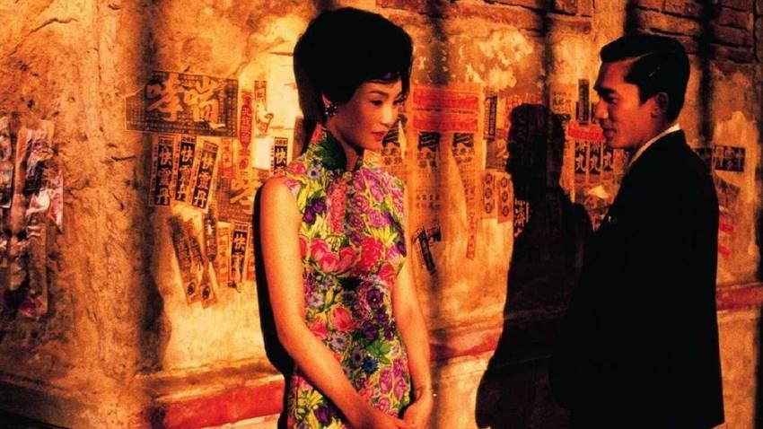 Escena de Deseando amar, del director Wong Kar-wai