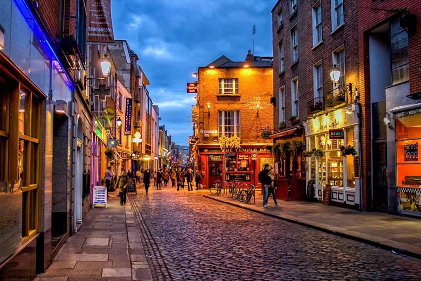 Calles de Dublín.