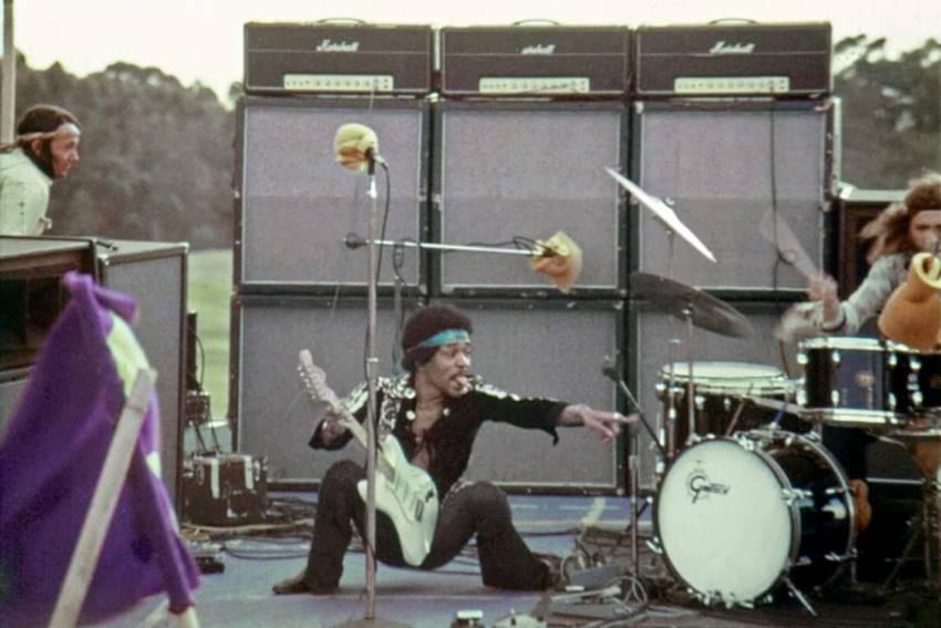 Jimi Hendrix en Maui