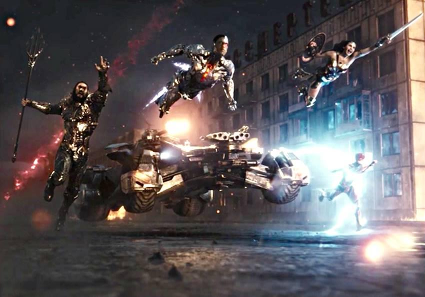 La liga de la Justicia de Zack Snyder.