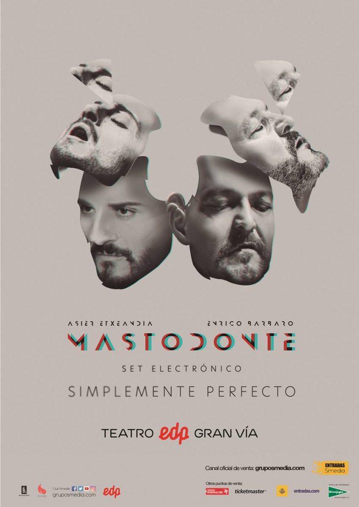 Concierto de Mastodonte el 17 de abril en Madrid.