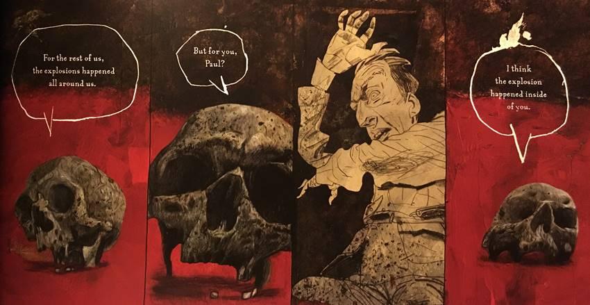 El onírico arte de Dave Mckean en Black Dog