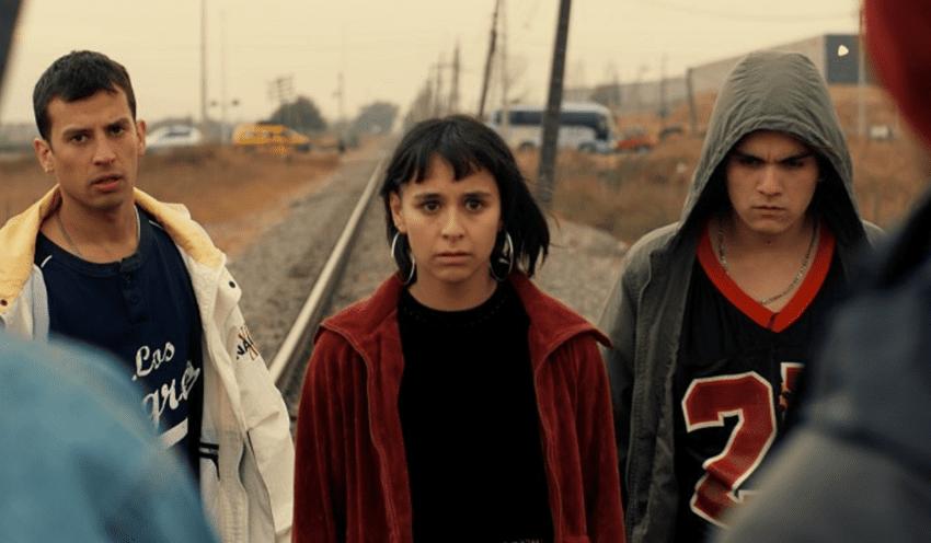 Max Salgado (Martín), Ignacia Uribe (Sol) y René Miranda (Charly), protagonistas de Piola.