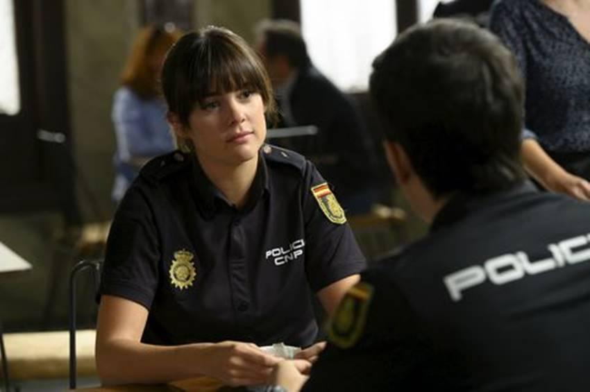 Cristina Abad en Servir y proteger
