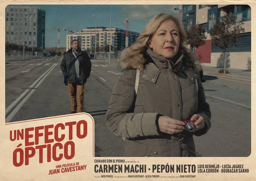 Un efecto óptico, con Carmen Machi y Pepón Nieto.