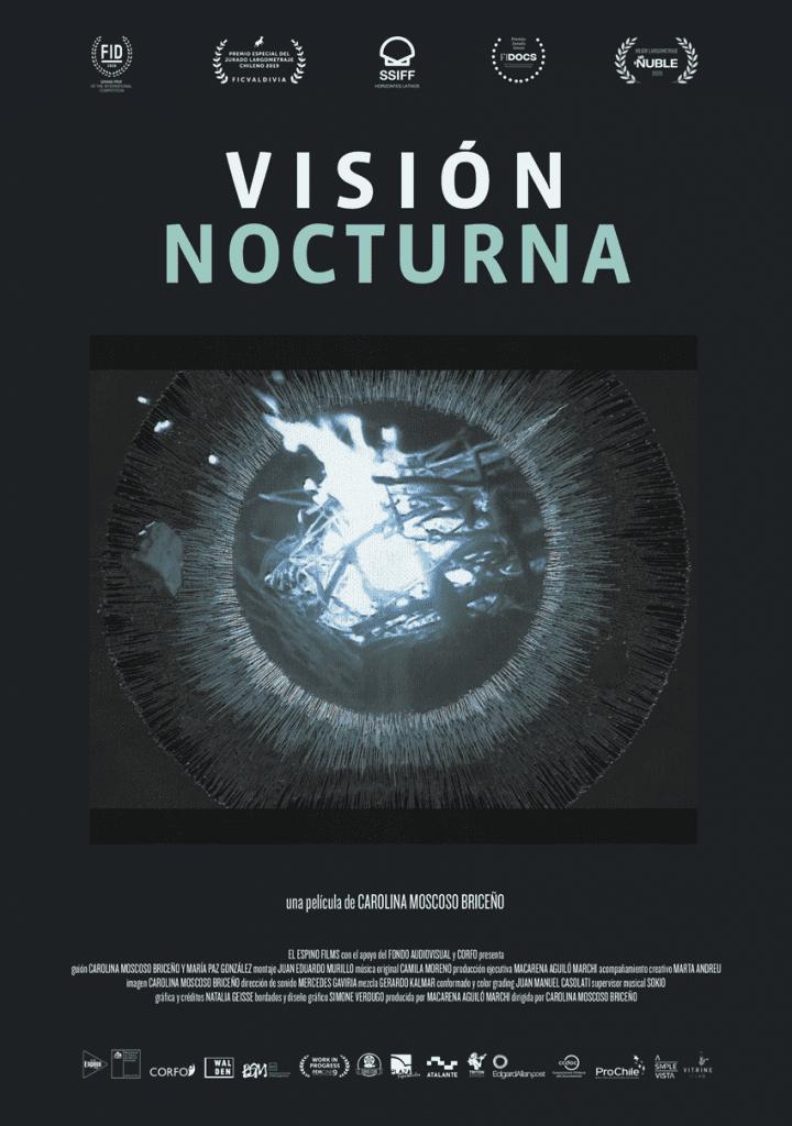 La película documental Visión nocturna de la directora chilena Carolina Moscoso.