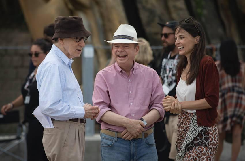 Elena Anaya, Wallace Shawn y Allen en Rifkin Festival