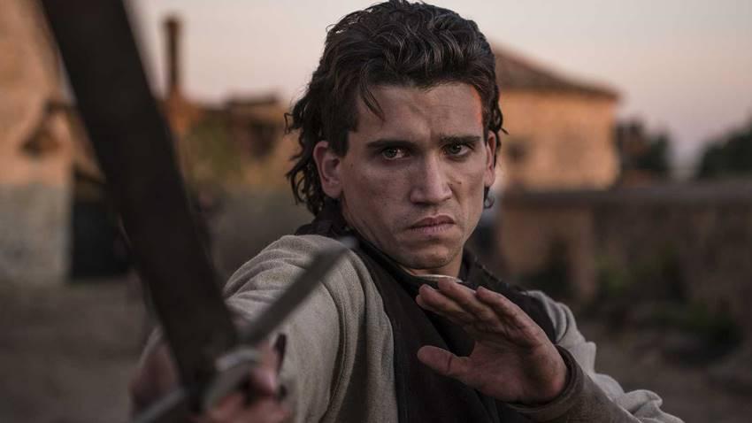 Jaime Lorente en la serie de Amazon, El Cid.