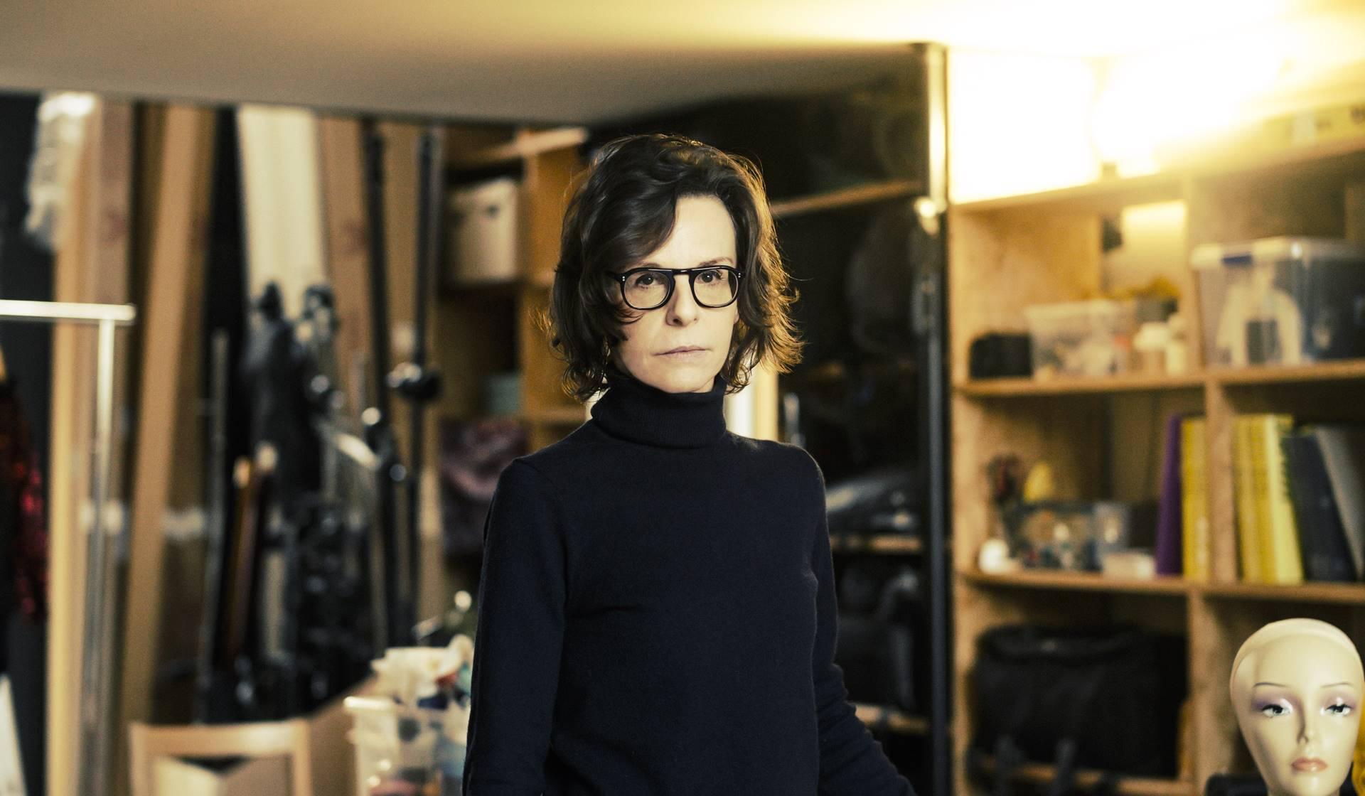 Valérie Belin, photographe Paris, le 10 janvier 2020 ©Frédéric Stucin