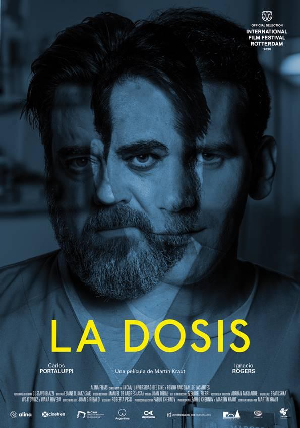 Carlos Portaluppi e Ignacio Rogers en el cartel de La dosis.