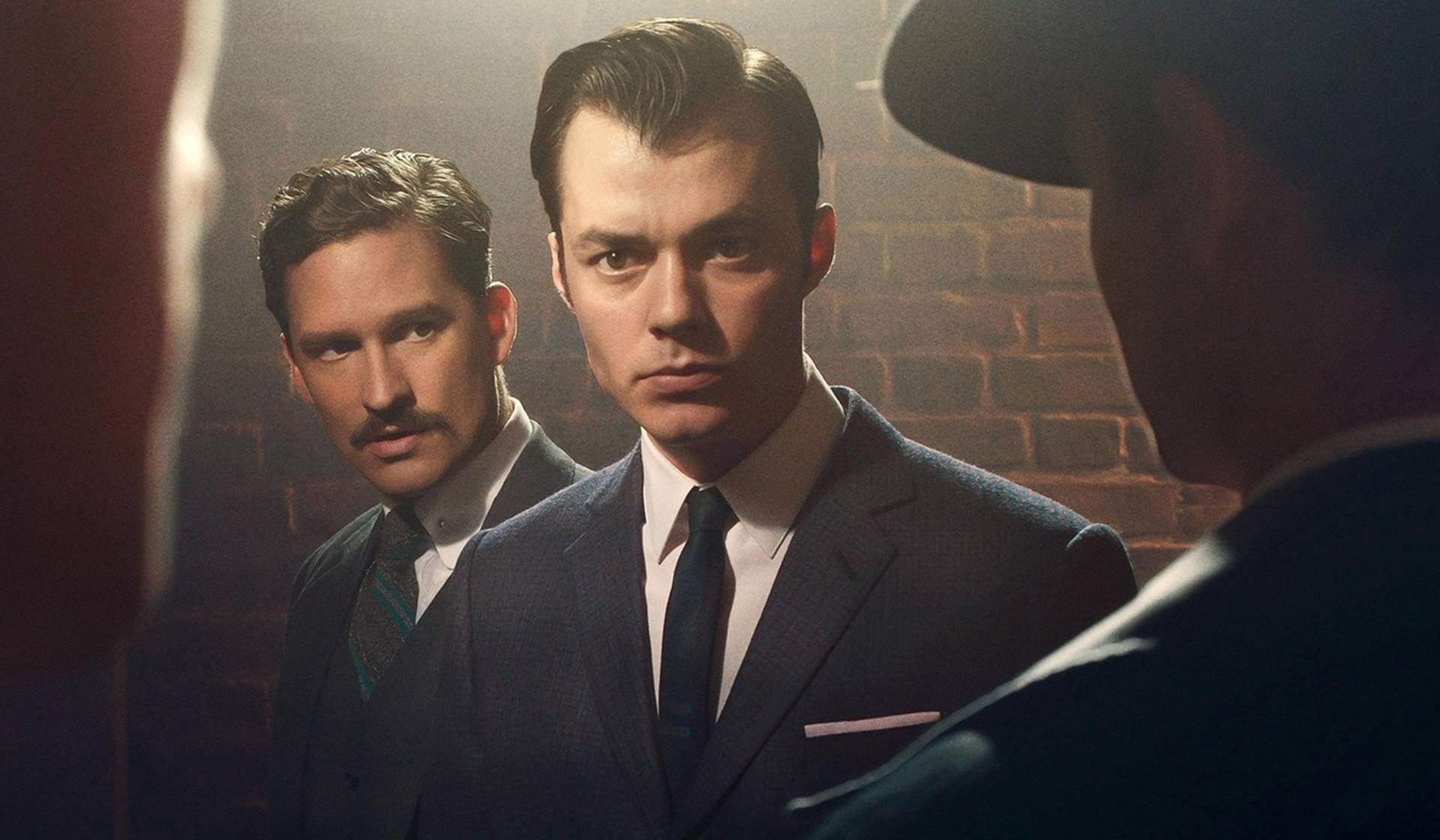 Alfred Pennyworth y Thomas Wayne en 'Pennyworth'