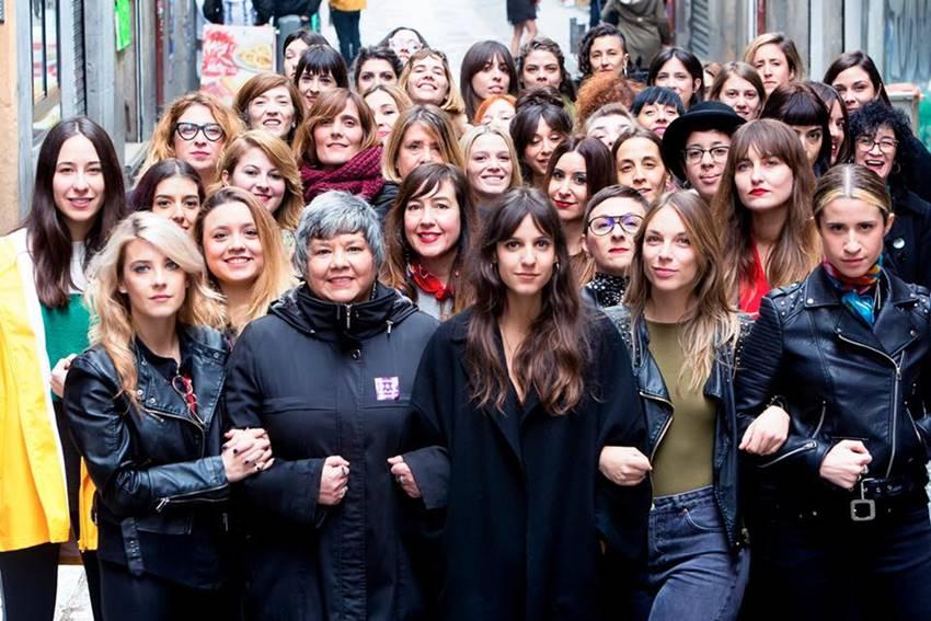 Mujeres luchando en contra de la precariedad laboral en la música.