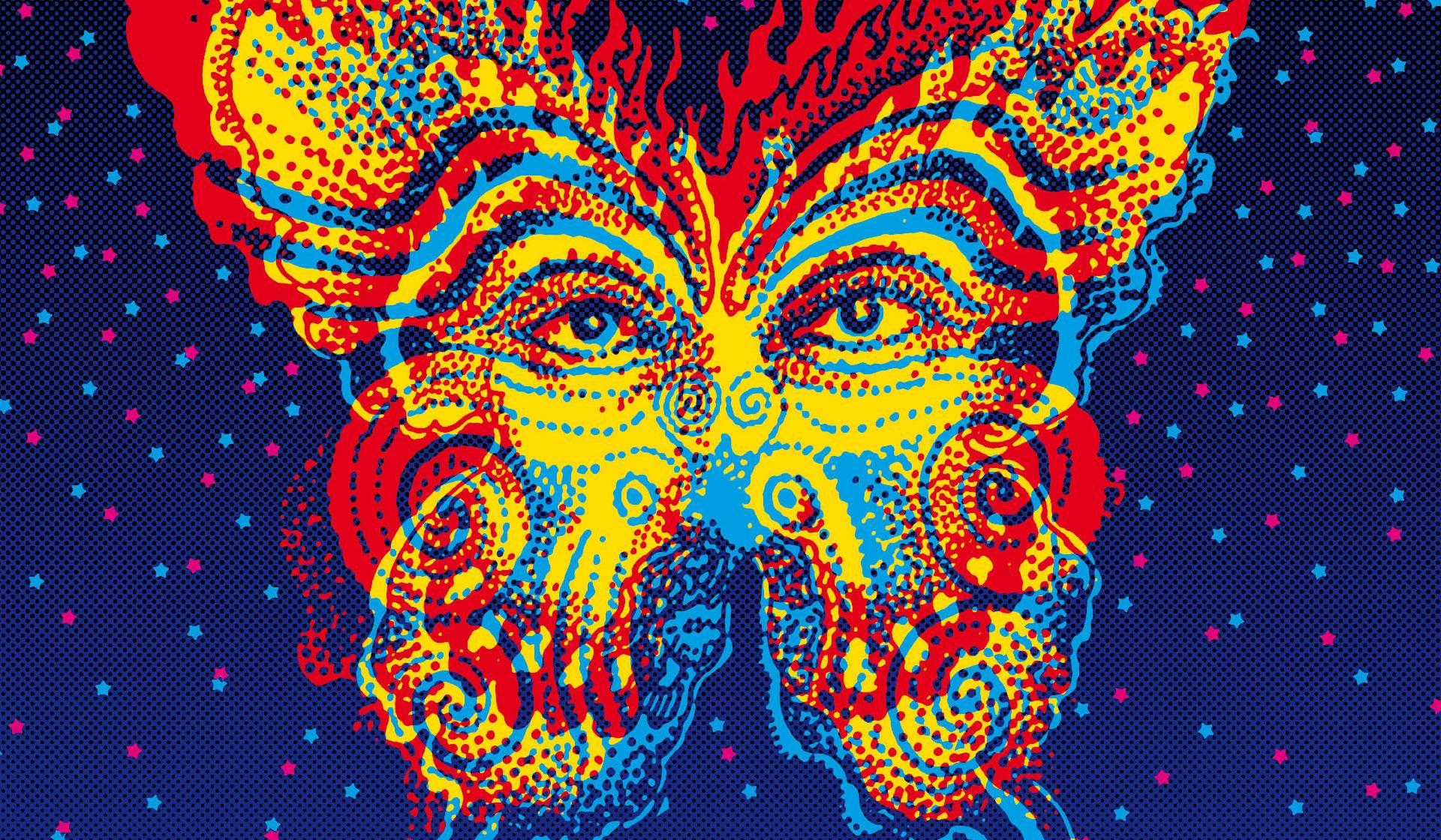 Arte psicodélico de Victor Moscoso