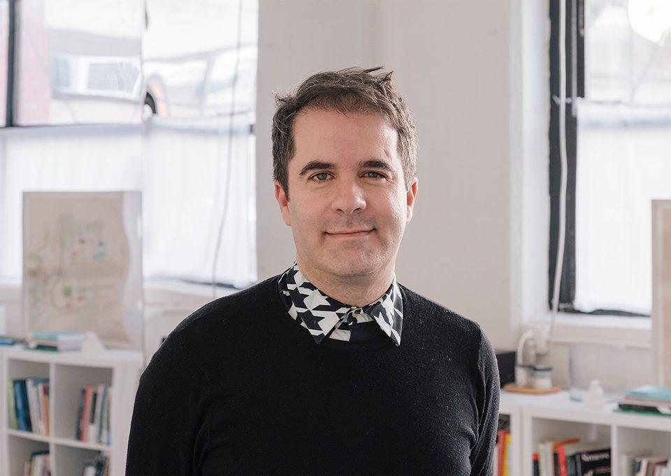 Andrés Jaque, curador jefe de la Bienal Shanghái.