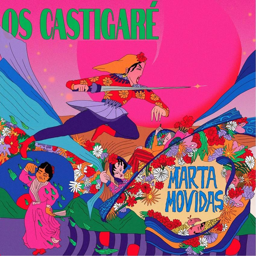 Disco debut de Marta Movidas, Os castigaré.