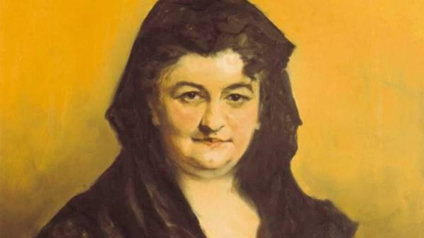Emilia Pardo Bazán, escritora y periodista feminista (1851-1921).