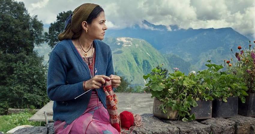 Fotograma de la película Fire in the mountains de Ajitpal Singh, ganadora de la Lady Harimaguada de Plata.
