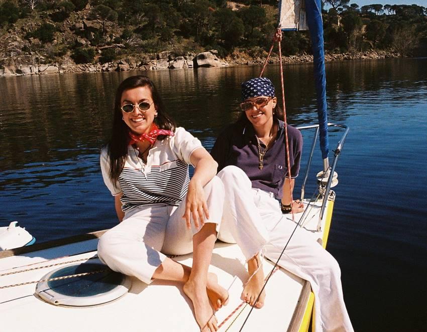Ana Legazpi y Carol Moyano forman Marlena.