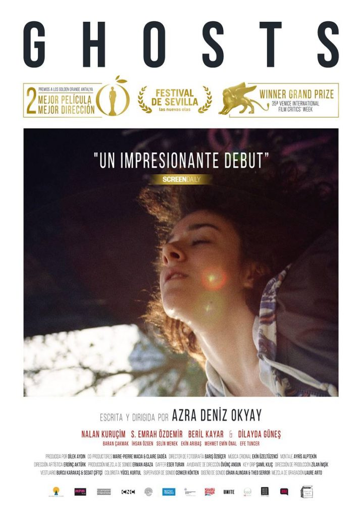 Póster película Ghosts de la directora y guionista Azra Deniz Okyay.