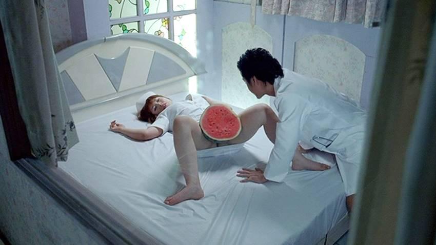 Fotograma de El sabor de sandía de Tsai Ming-Liang.