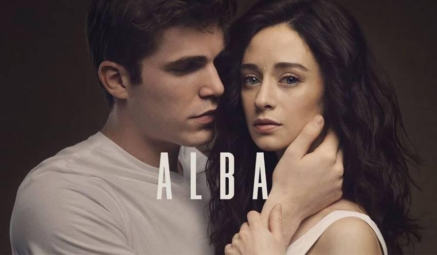 Cartel promocional de la serie Alba.