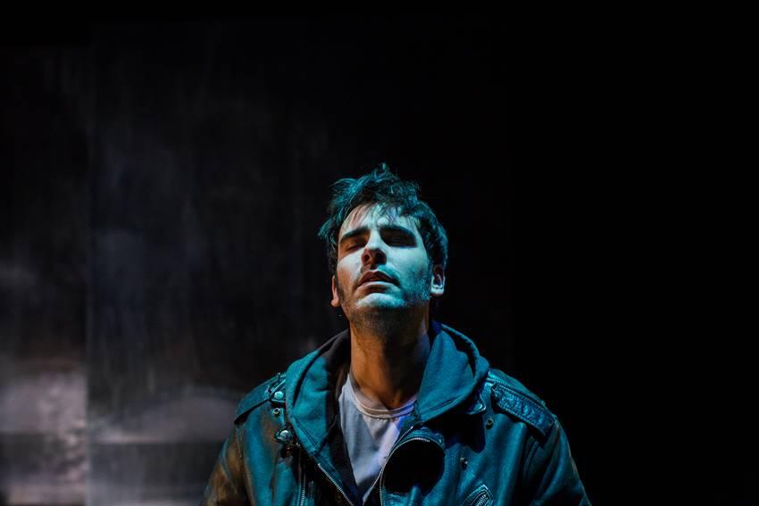 José Luis Alcobendas interpreta a Vicentín en El silencio de Elvis. Foto: ©Paula Piñón.
