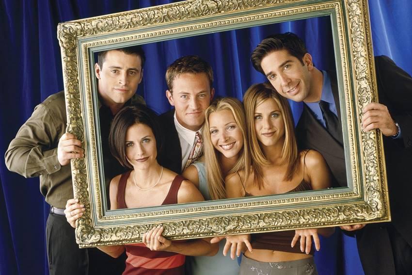Una de las míticas imágenes de la serie Friends.