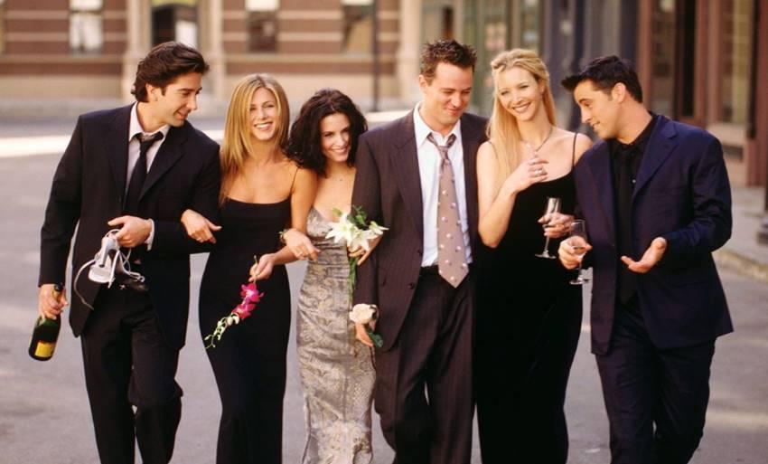 Otra de las imágenes más recordadas de Friends.