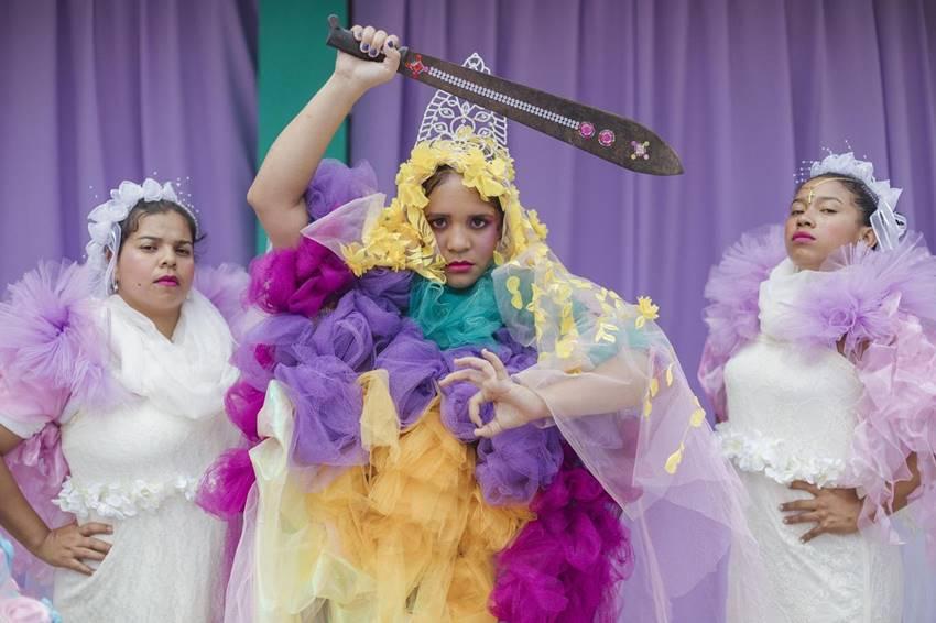 Lido Pimienta en una imagen promocional del álbum Miss Colombia.