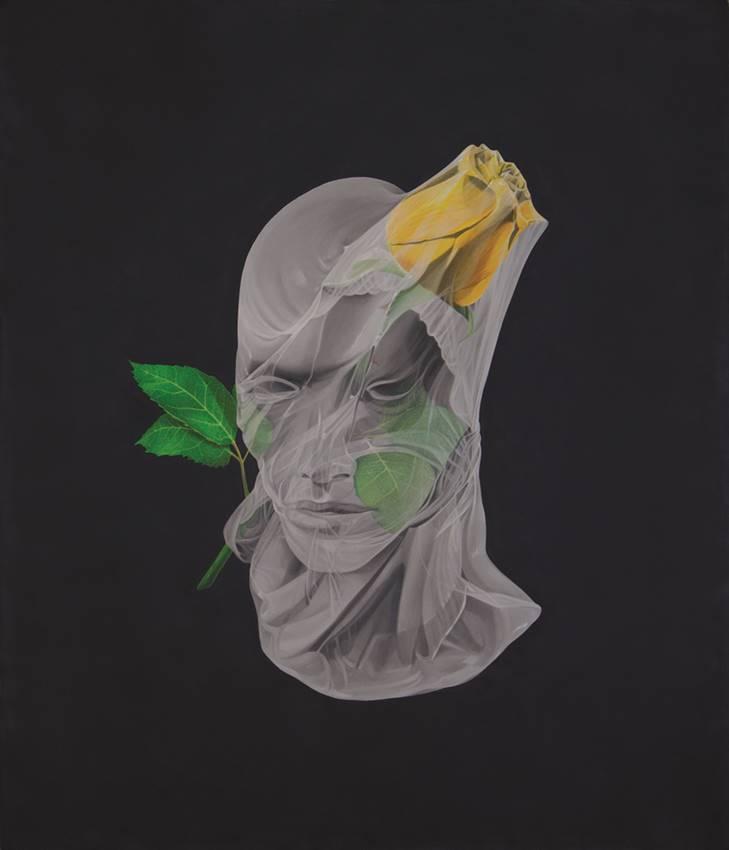 Óleo sobre lienzo, 112 x 94 cm. Marina Núñez.