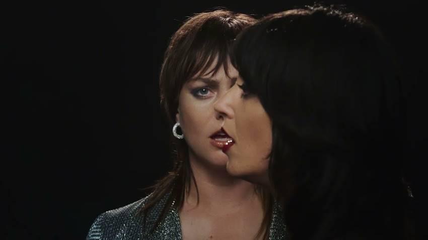 Sharon Van Etten y Angel Olsen en el videoclip de Like I Used To.