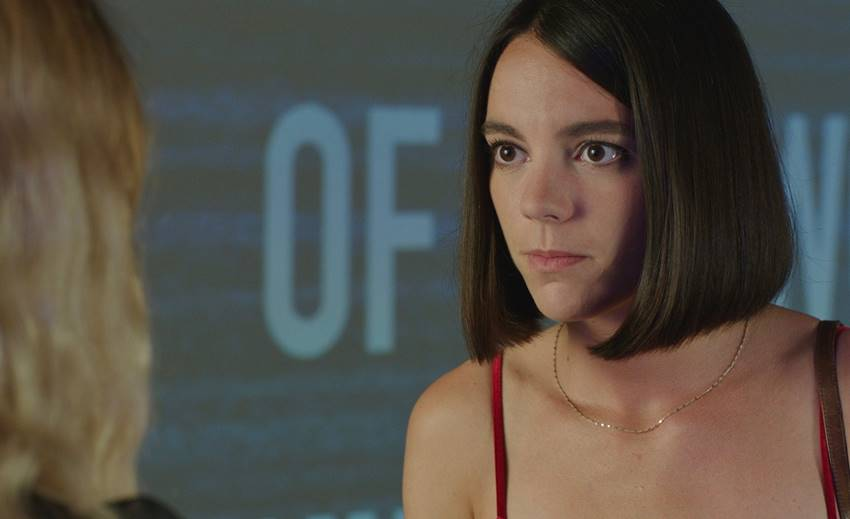 La actriz Vicky Luengo en Chavalas.