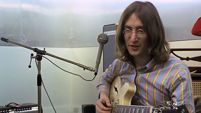 John Lennon en The Beatles: Get Back