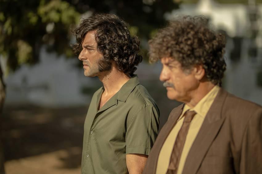 Javier Rey y Pedro Casablanc en La casa de Caracol.
