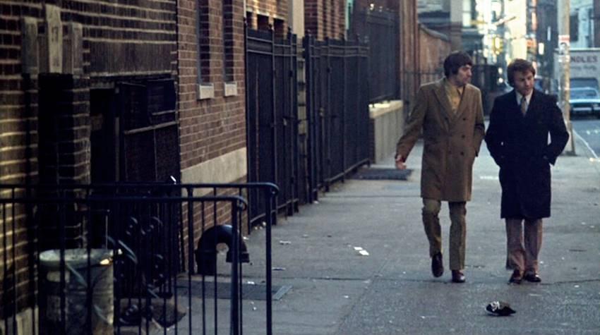 De Niro y Keitel en Malas calles de Martin Scorsese.