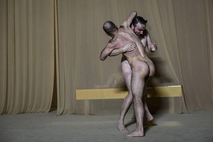 Magníficos Hugo torres y Joaquín Abella en Othello  © Estrella Melero .