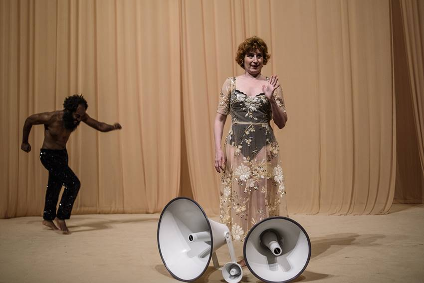 Othello y Desdémona. © Estrella Melero.