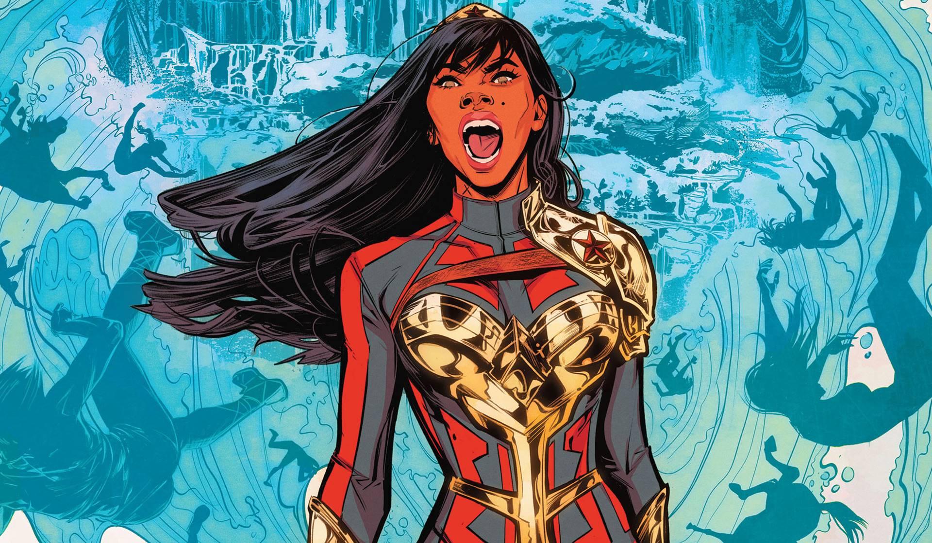 Wonder Girl de DC comics. Joëlle Jones.