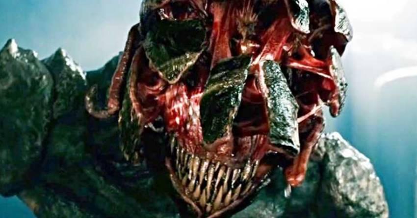 Desde Predator hasta Strangers things. Ya está bien de monstruos a los que se les abre la cara...