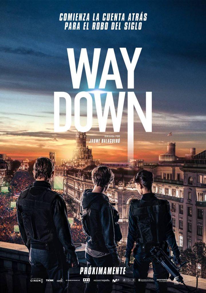 Cartel Way Down, película de Jaume Balagueró