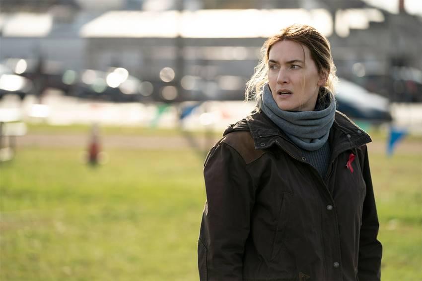 Kate Winslet en Mare of Easttown. HBO