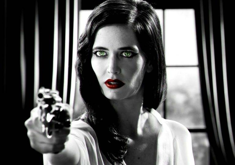 Eva Green en Sin City.