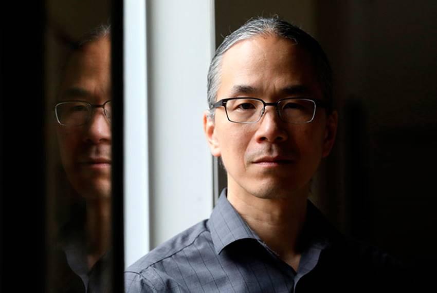 El escritor Ted Chiang. Foto: Alan Berner.