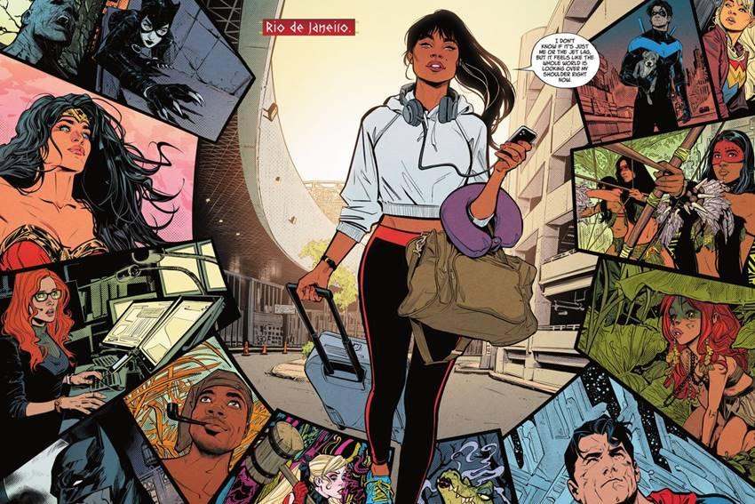 Yara Flor es Wonder Girl