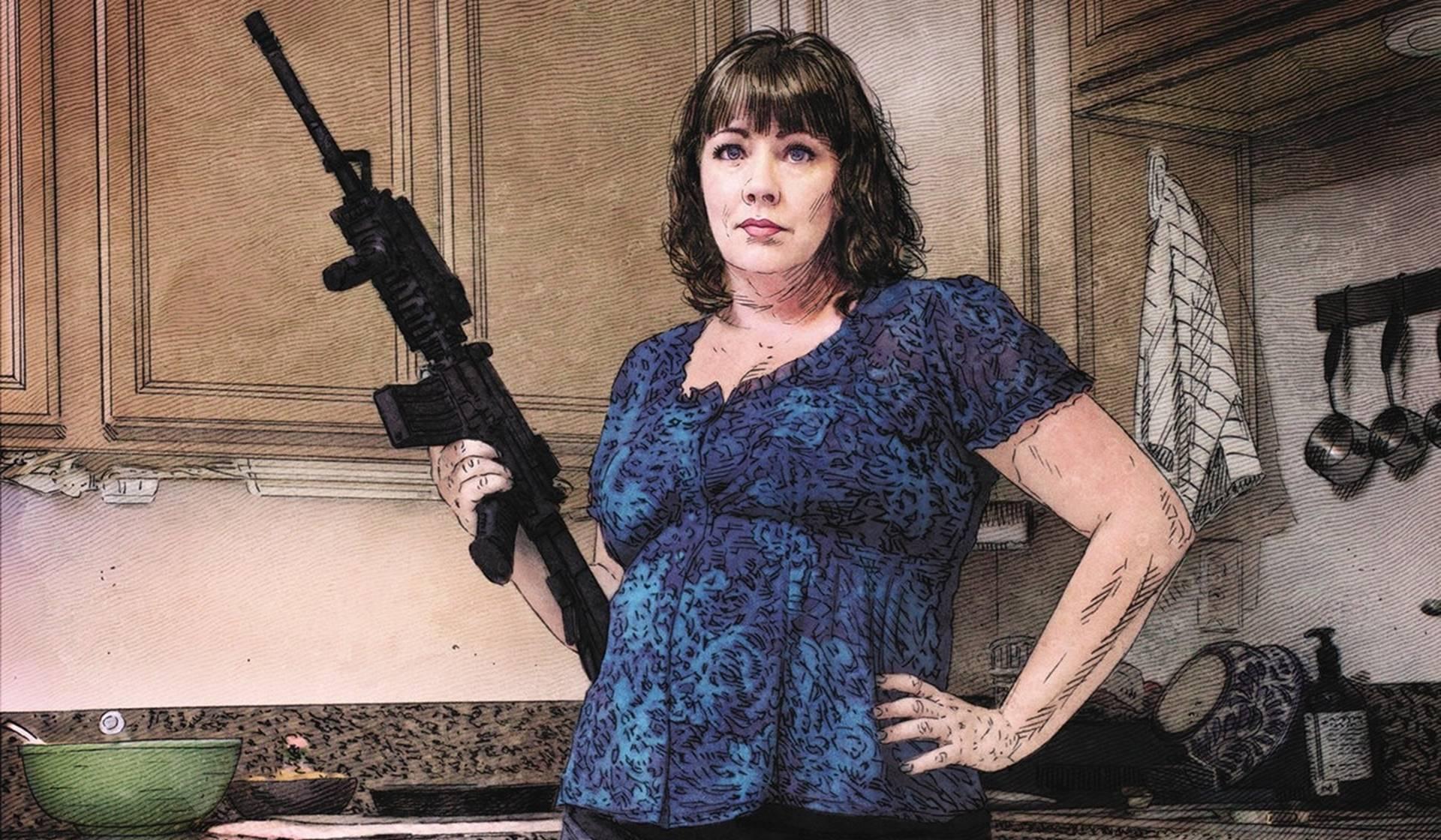 Bad Mother de Christa Faust y Mike Deodato Jr