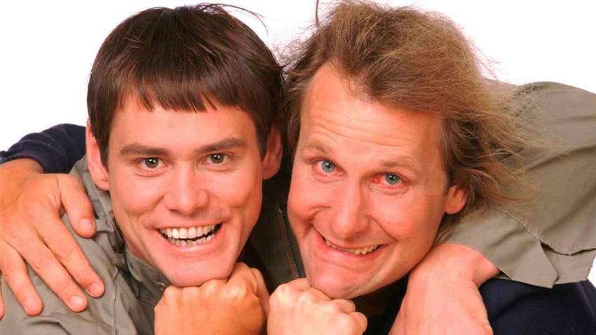 Imagen de Dos tontos muy tontos, una de las comedias más vistas.