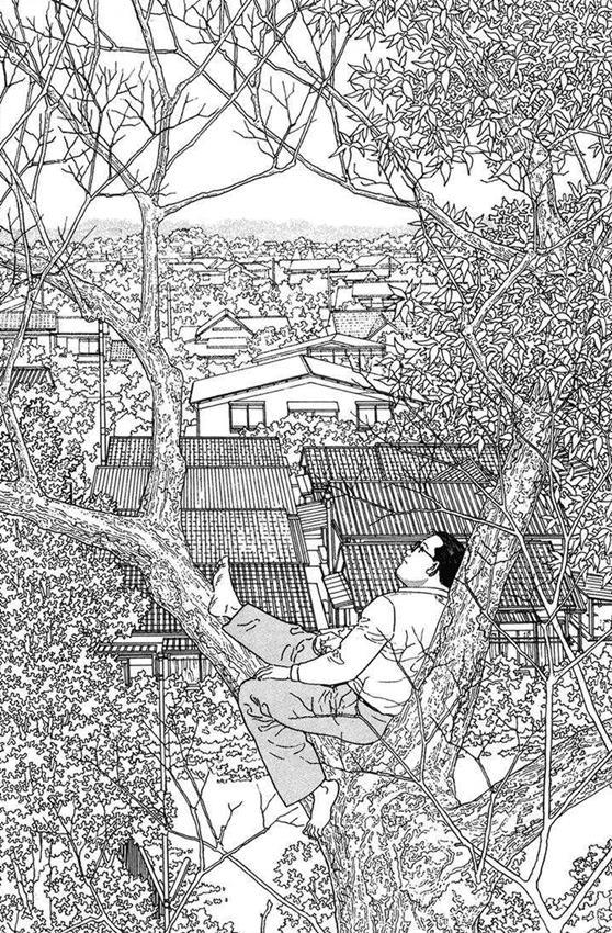 El caminante, Jiro Taniguchi.