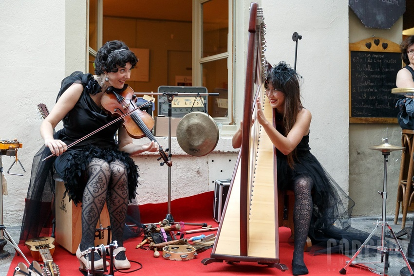 Formiga e Cigale. Noia Harp Fest