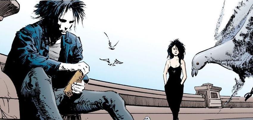 Morfeo, Muerte y las palomas. The Sandman